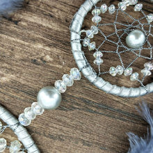 Gray Two Ring Dream Catcher Creative Home Decoration Dream Catcher Car Mounted Pendant Dream Catcher Northern Europe Dream Catch(China)
