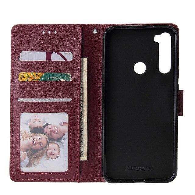 Odwróć portfel etui na Xiaomi Redmi Note 8 7 6 5 4 Pro 8A7A 6A 5A 4X 5X 5 Plus Y1 Pocophone F1 K20 Pro skórzany pokrowiec chroń pokrywę