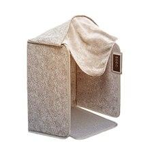 Portable Far Infrared Foot Warmer Winter Folding Heater 210W 5 Modes Electric Leg Heater Home Office Folding Warmer Cushion