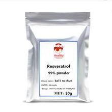 2021 Hot sale 99% Pure Resveratrol Powder Supplement festival glitter body gel resveratrol extract beauty skin nmn Makeup