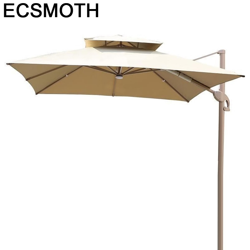 Garten Mobilya Ombrelle Mariage Ogrodowy Moveis Ombrellone Da Spiaggia Outdoor Parasol Patio Garden Furniture Umbrella Set
