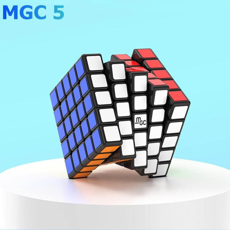 Yongjun MGC 5x5x5 Magnetic Magic Speed Cube YJ MGC5 Magnets Speed Cubes 5x5 Educational Toys MGC 5