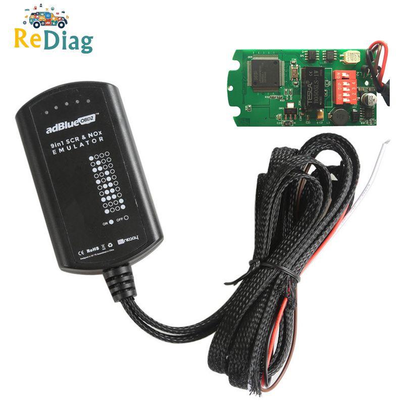 9 w 1 Emulator ADBLUE dla M/S/IVECO/DAF/VOLVO/RENAULT/F/C emulator adblue 9in1 pełny Chip diagnostyczne do samochodów ciężarowych