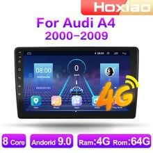 4 g android 9 2din rádio do carro multimídia player de vídeo para audi a4 2000 2001 2002 2003 2004 2005-2009 navegação gps áudio 2 din