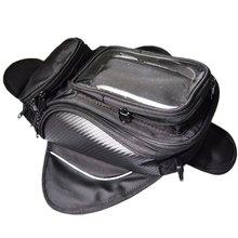 Motorbike oil fuel Magnetic Tank Bag Strong Slanting Single Shoulder Bag Travel Bag Waterproof Bag big screen for phone & GPS