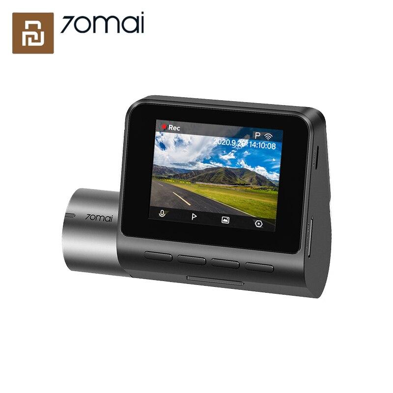 Xiaomi 70mai Smart Dash Cam Pro Plus A500 Голосовое управление HD 1944P автомобильный камера GPS 24 часа в сутки для парковочной системы ночного видения|Видеорегистраторы| | АлиЭкспресс
