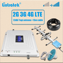 Amplifier Repeater Internet-Booster Lintratek 1800 2100 Triband GSM 2600 3g 4g 900 LTE