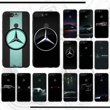 racing CAR AMG design case DIY Luxury soft shell Phone Case For honor 10i 20 lite view 5s y6 play 8c 6 Luxury premium Cover(China)