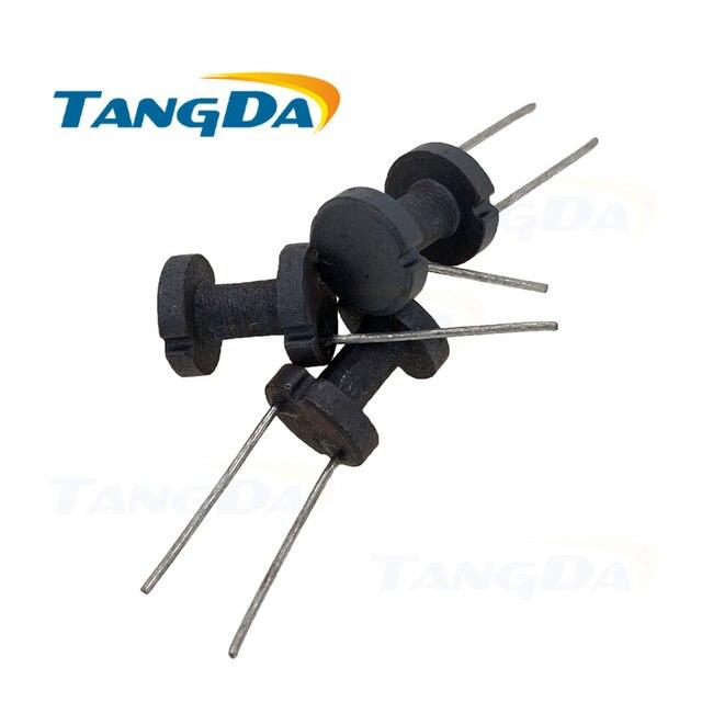 Tangda DR8 * 10 millimetri DR 8 10 Morbido Nucleo di Ferrite in trasformatore Induttore nuclei magnetici Nucleo Tamburo H 2 pin 8*10 forma della bobina core AG