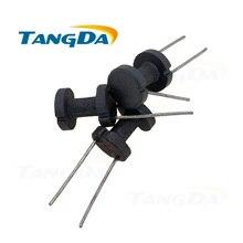 Tangda DR8 * 10 mm DR 8 10 yumuşak ferrit çekirdekli indüktör manyetik çekirdek davul çekirdek H 2 pin 8*10 bobin formu çekirdek AG