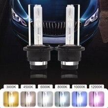 FDCHT bi luces car headlight bulbs xenon d2s d2r 6000k 8000k hid kit xenon 35w lights ballast bulb canbus zenon moto ds2 d2c