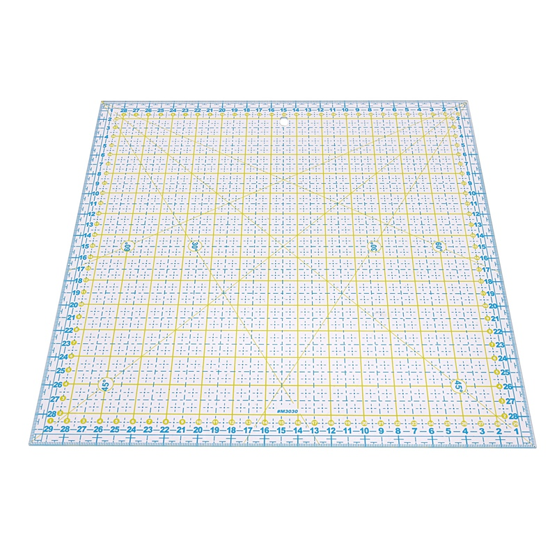 DIY Hand Tools Patchwork Ruler Square Tailor Ruler Cloth Cut Ruler Sewing Art Crafts 30x30cm