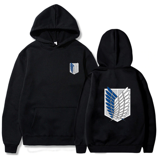 Attack on Titan Hoodie Men Fashion Loose Pullovers Casaul Tops oversize hoodie sweatshirt women Regular pullover hoodies