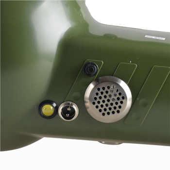 High power 220W xenon searchlight external 12V 160W searchlight strong light long shot 100W portable search light