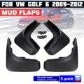 Garde boue pour VW Golf 6 MK6 2009 2010 2011 2012 garde boue garde boue garde boue accessoires|Garde-boue| |  -