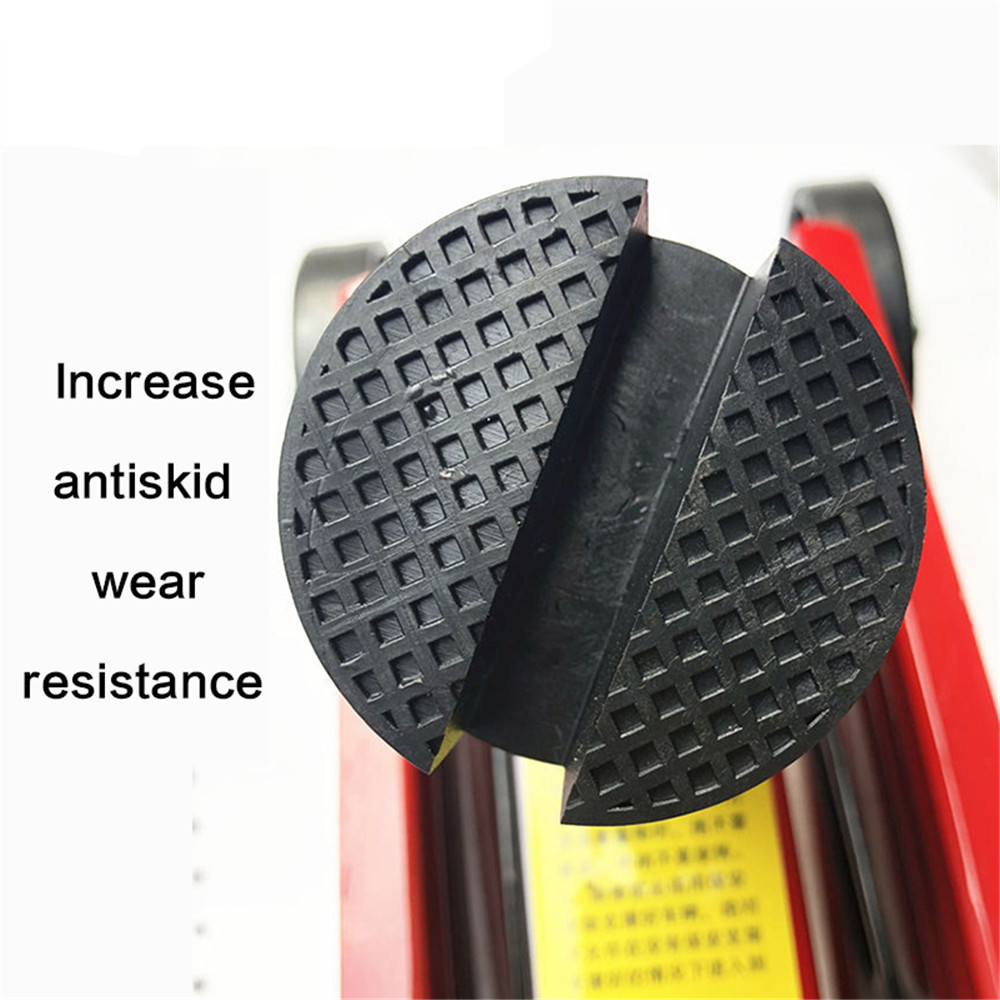 Car Lift J A Ck Stand Rubber Pads J Ack Pad Disc Hydraulic Disk J A Ck Stand Black Rubber Slotted Floor Pad Head Skid