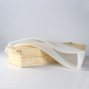 Image 3 - Nicole Silicone Soap Mold Long Size Rectangle Mould with Wooden Box Handmade Swirl Loaf Soaps Making Tool