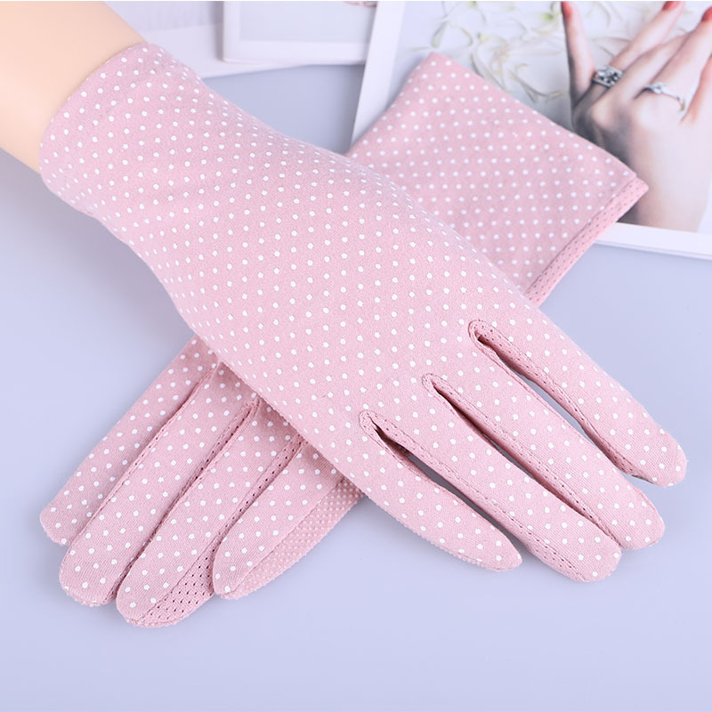 Outdoor Cycling Non-slip Breathable Ladies Gloves Spot Summer Thin UV Protection Sun Gloves