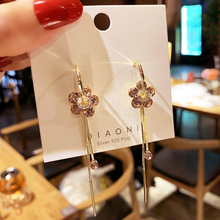 New Korean Heart Statement Drop Earrings 2020 for Women Fashion Vintage Geometric Acrylic Dangle Hanging Earring Jewelry