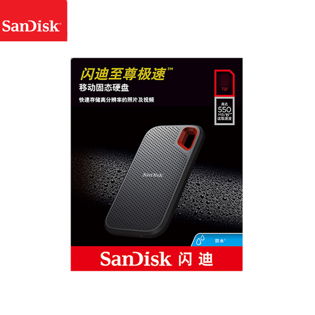 100%SanDisk Type-c Portable 1tb SSD 2tb 500GB 550M External Hard Drive USB 3.1 HD SSD Hard Drive Solid State Disk for Laptop 1