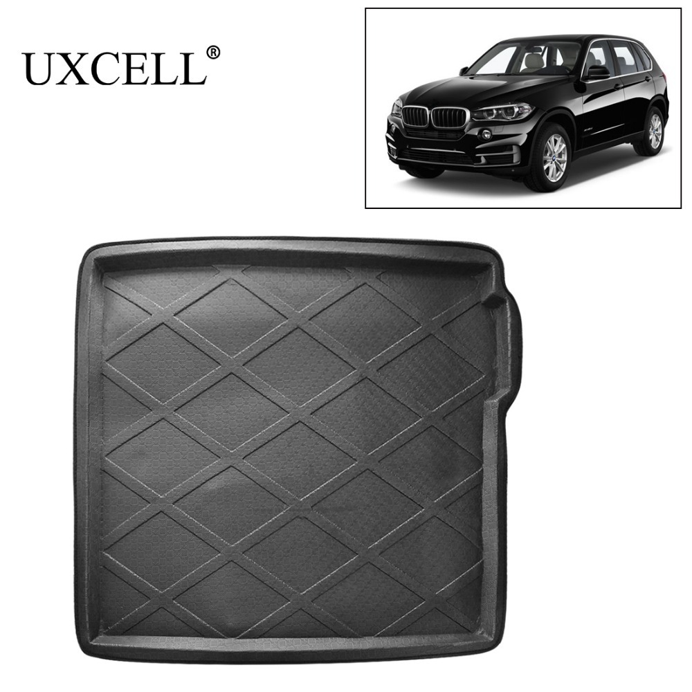 UXCELL Random Send Rubber Rear Car Trunk Cargo Tray Cover Floor Mat Carpet For BMW X1 X3 X5 5 Series 520i 525i 528i 530i 540i