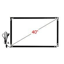 40 polegada 16:9 infravermelho multi touch frame 928*541mm 10 pontos toque interface usb