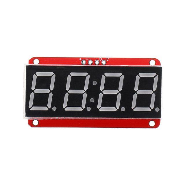 LEORY 3/5/10 stücke 4 bit 0,56 Zoll 7 segment LED Digital Rohr Modul I2C Control 2 linie control HT16K33 LED Display Modul