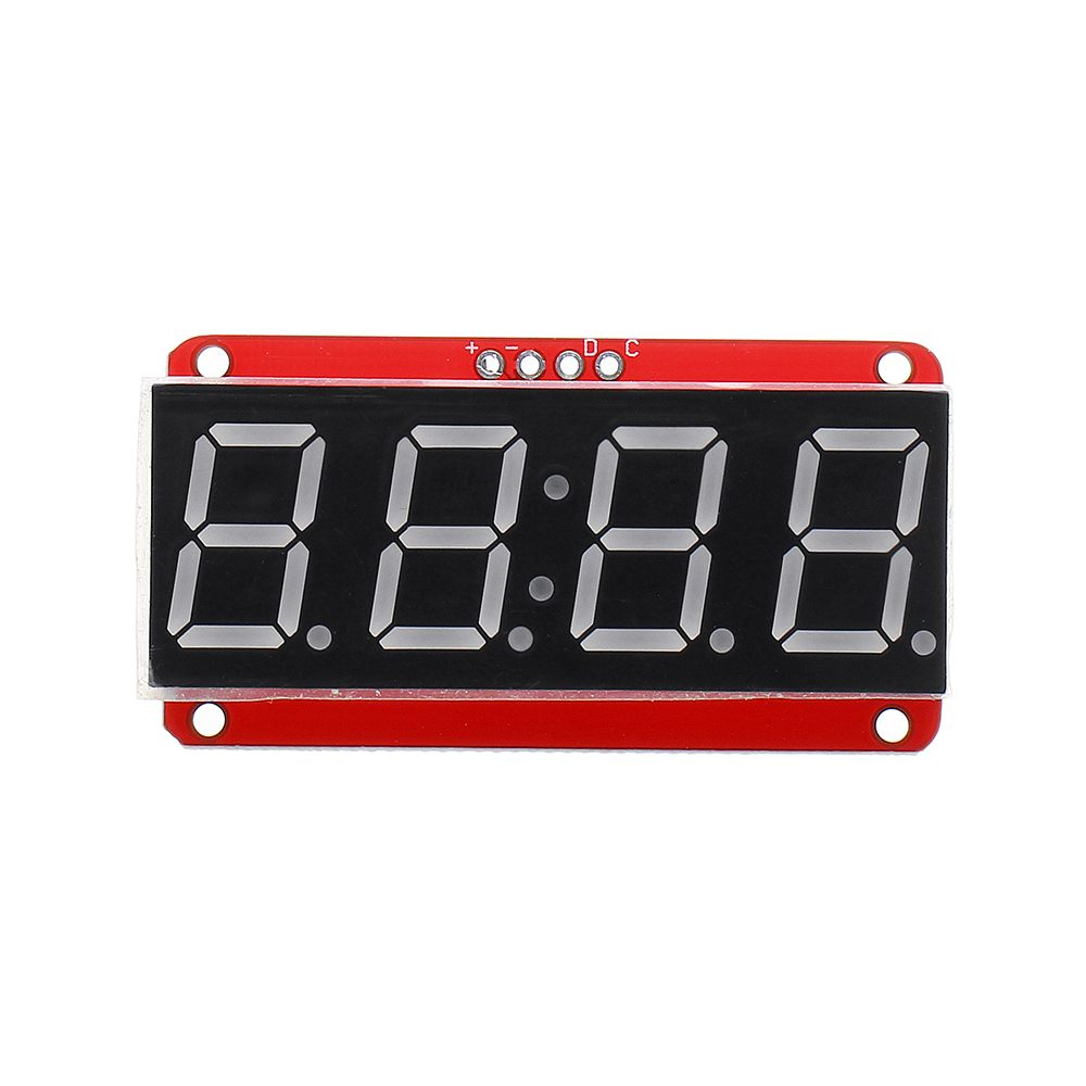 LEORY 3/5/10pcs 4-bit 0.56 Inch 7-segment LED Digital Tube Module I2C Control 2-line Control HT16K33 LED Display Module