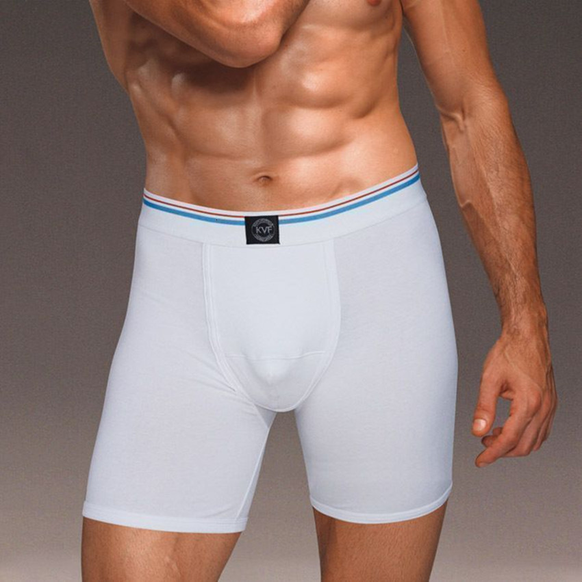 5 шт./лот, мужские Модные шорты из лайкры и хлопка, боксеры, мужское нижнее белье, innerwear, боксеры, мужские боксеры, нижнее белье - 1