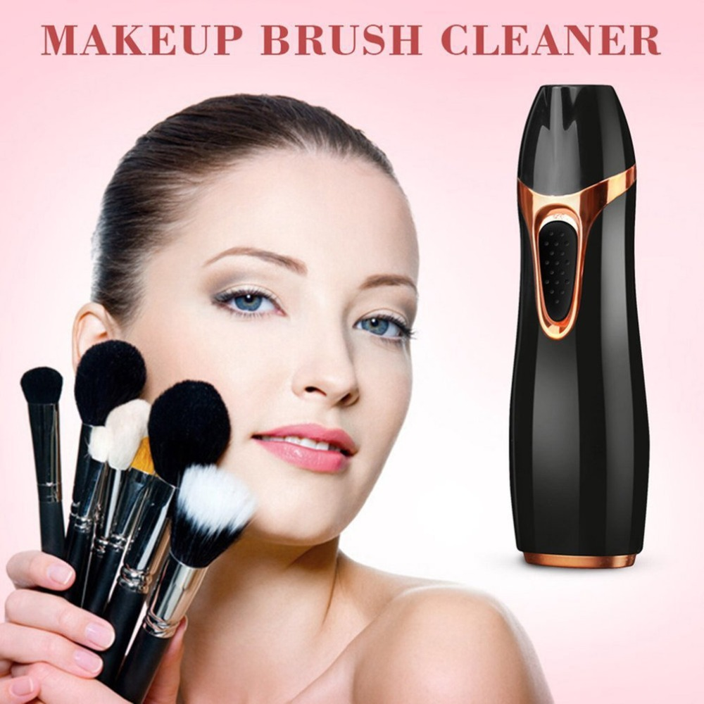 Electric Scrubber Makeup Brush Automatic Cleaning Machine For Ten Seconds Removes The Leftover Cleaning Machine Toiletry Kits