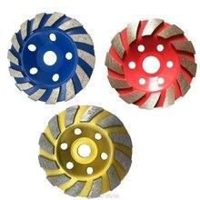 Wheel-Disc Segment-Grinding 125mm Granite-Stone Grind-Cup Marble Angle-Grinder Diamond