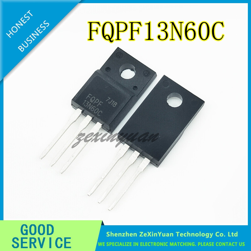 20PCS/LOT FQPF13N60C 13NM60N 13N60 K13A60D 13A600V TO-220F MOSFET