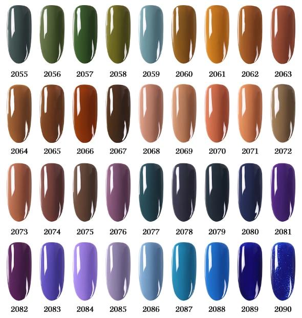 NAILCO 131 Couleurs Tous Les ongles série Vernis À Ongles Vernis Hors LED LED Gel Semi Permanents 15ML Gel nail Art Hybride