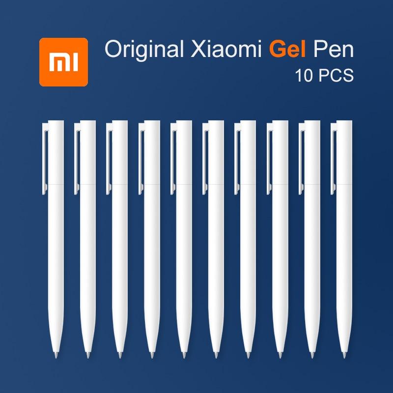 Xiaomi Gel-Pen Refill Black Original Japanese 10pcs Smooth Ink No No-Cap Switzerland