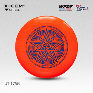 10pcs X-COM Professional Ultimate Flying Disc Certified by WFDF For Ultimate Disc Competition Sports 175g for Ultimate Games