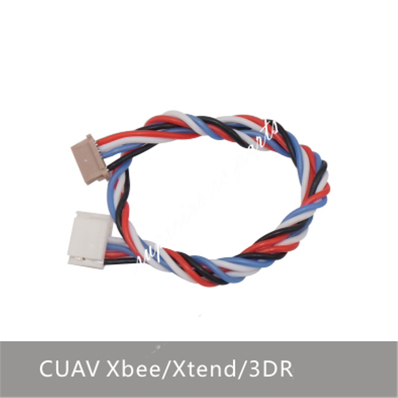 CUAV Xbee Xtend 3DR Telemetry Pixhawk Pixhack APM Flight Control Connect Cable GH Interface image