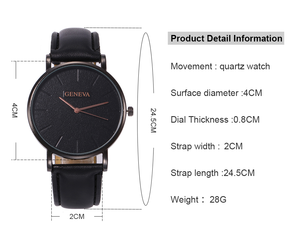 H84161b7bae5e4e3599b52e05ec57ed2eD Arrival Men's Watches Fashion Decorative Chronograph Clock Men Watch Sport Leather Band Wristwatch Relogio Masculino Reloj