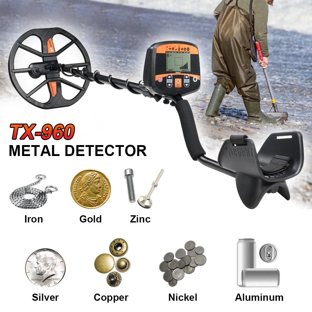TIANXUN TX-960 haute sensibilité professionnel souterrain détecteur de métaux en or