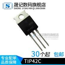 50 pces tip42c tip42 para-220-novo e original 1 pedido