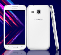 Samsung-teléfono inteligente Galaxy G3502, teléfono móvil desbloqueado con GPS, pantalla de 4,3 pulgadas, 4GB ROM, 3G, Android, cámara de 5.0MP, Tarjeta sim Dual