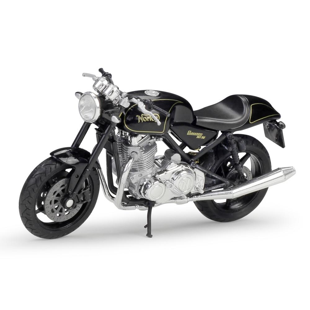 Welly Diecast Licenced 1:18 Scale Motorbike Model ~ Norton Commando 961 SE