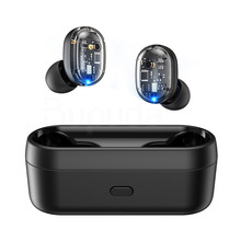 TWS Bluetooth Wireless Earphone 5.0 Touch Control Earbud Waterproof 9D Stereo Mu