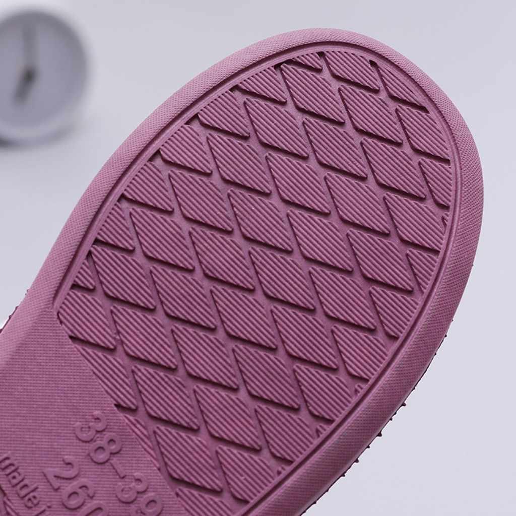 Kış kadın ayakkabı ev terlik erkek çiftler çizgili akın sıcak kaymaz daireler zemin ev terlik kapalı bayan kürklü ayakkabı 97