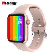 Смарт часы 2020 iwo w26 series 6 экран 175 дюйма ЭКГ bluetooth