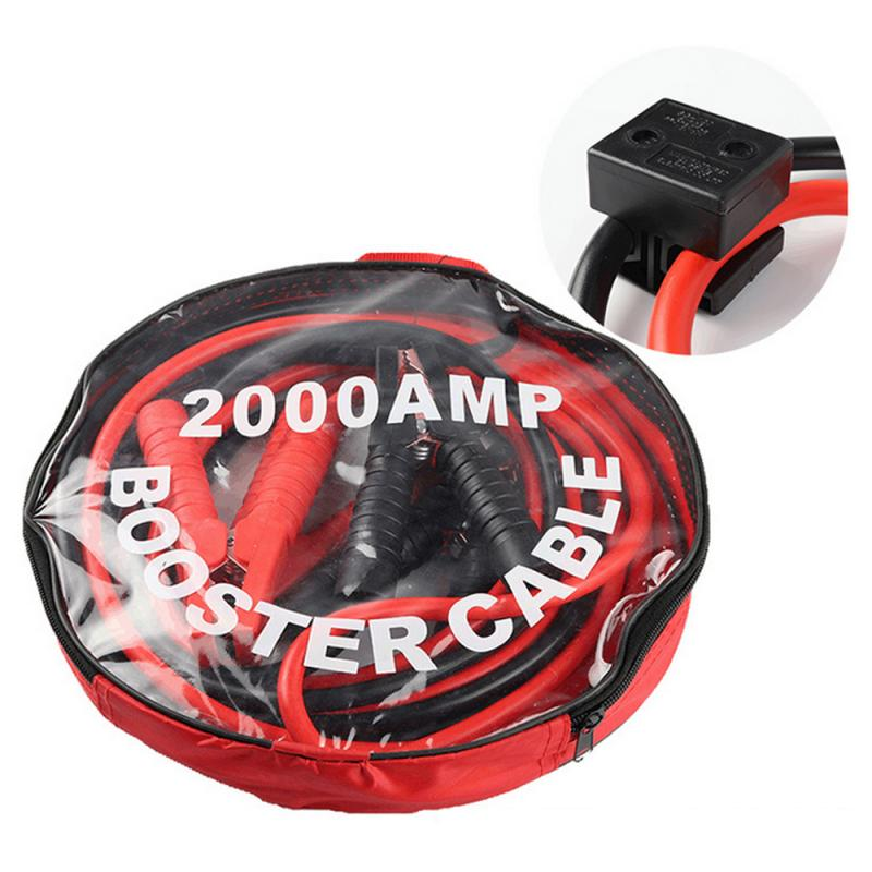 2000AMP <font><b>Auto</b></font> Booster Kabel Heavy Duty <font><b>Auto</b></font> Ausgangs Jumper Kabel Notfall Power Lade <font><b>Batterie</b></font> Booster Kabel Kupfer Draht image