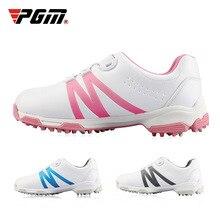 PGM обувь для гольфа для мальчиков и девочек, водонепроницаемые кроссовки для тренировок, детская Нескользящая спортивная обувь с мягкой подошвой для гольфа