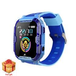 2019 новые детские gps Смарт часы телефон 4G Smartwatch Wifi трекер студенческий SOS SIM видео звонок Водонепроницаемые Детские камеры детские часы