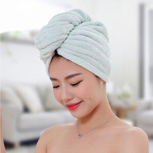 Image 4 - GIANTEX женские полотенца ванная комната полотенце из микрофибры полотенце для волос банные полотенца для взрослых toallas servitte de bain recznik handdoeken