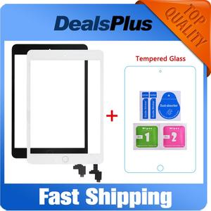 Replacement New Touch Screen Digitizer with IC+Home Button+Flex Cable For iPad Mini 1 A1432 A1454 A1455 Mini 2 A1489 A1490 A1491(China)
