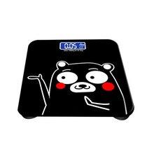 Бытовые напольные электронные весы для здоровья с цифровым дисплеем, весы для тела, весы для веса, индекс температуры, электронные интеллектуальные весы